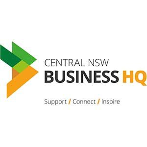 Business HQ Central NSW Logo | Upstairs Startups Co-working Space, Bathurst, Australia