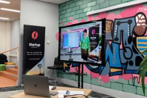 Pitch Presentation Space | Upstairs Startups Co-working Space, Bathurst, Australia