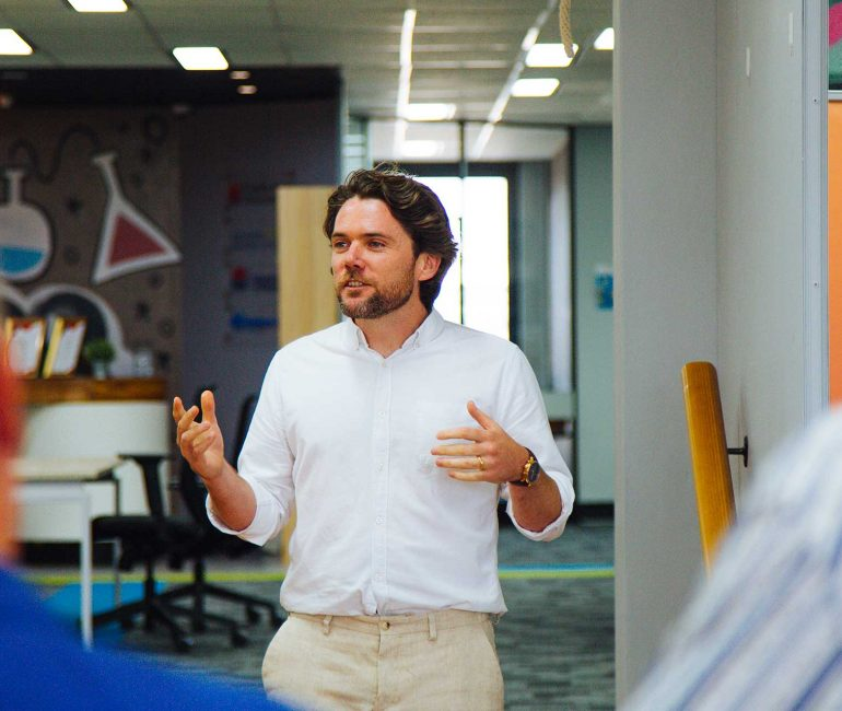 Presenting Your Start-up in the Pitch Space | Upstairs Startups Co-working Space, Bathurst, Australia