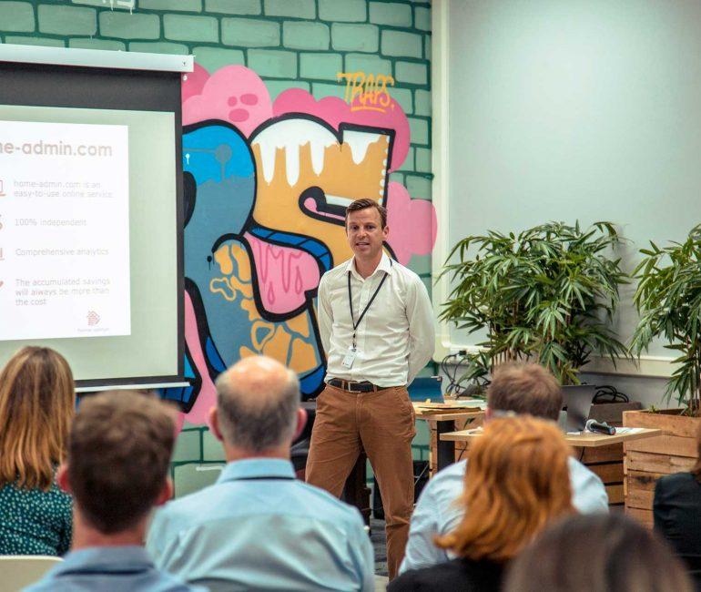 Startup Presentation Pitch | Upstairs Startups Co-working Space, Bathurst, Australia